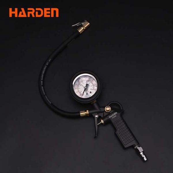 0-200PSI 150mm Length Oil-immersed Tire Pressure Gauge Harden Brand 670506