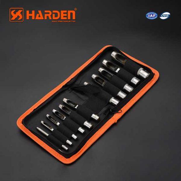 3-16mm 12Pcs Hollow Punch Set Harden Brand 610848