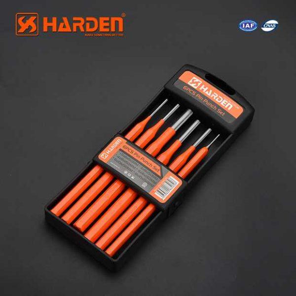 10 Inch 6PCS Pin Punch Set Harden Brand 610836