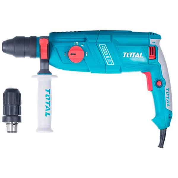 220-240V 800W Rotary hammer 1100rpm Total Brand TH308268