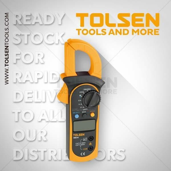 Digital Clamp Multimeter Tolsen Brand 38034