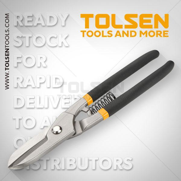 "250mm- 10"" Tinman's Snips Tolsen Brand 30030"