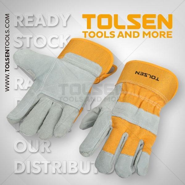 Leather Working Gloves Tolsen Brand 45024
