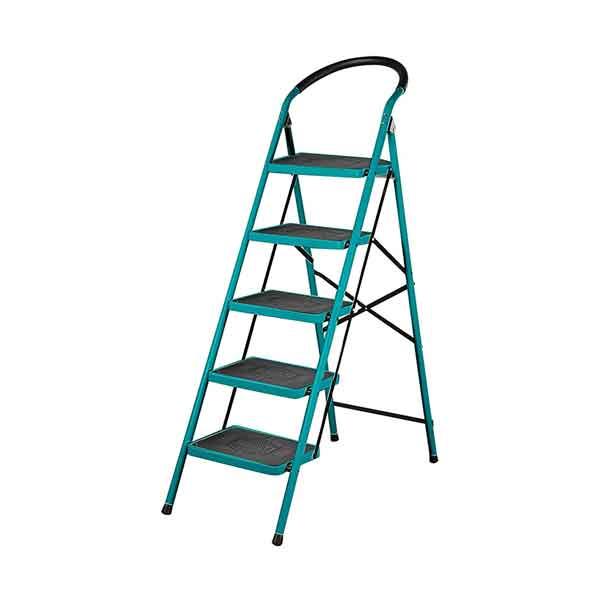 5 Step Steel Ladder Total Brand THLAD09051
