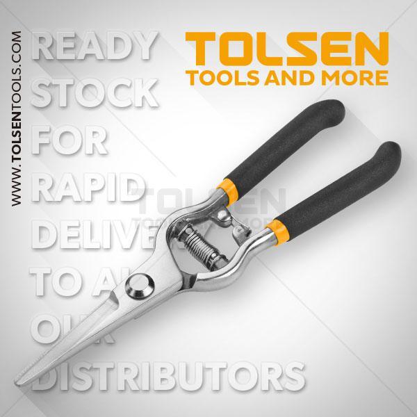 "200mm- 8"" Straight Pruning Shear Tolsen Brand 31019"