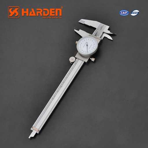 150mm Professional Steel Dial Caliper Harden Brand 580811