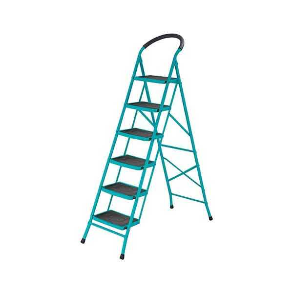 6 Step Steel Ladder Total Brand THLAD09061