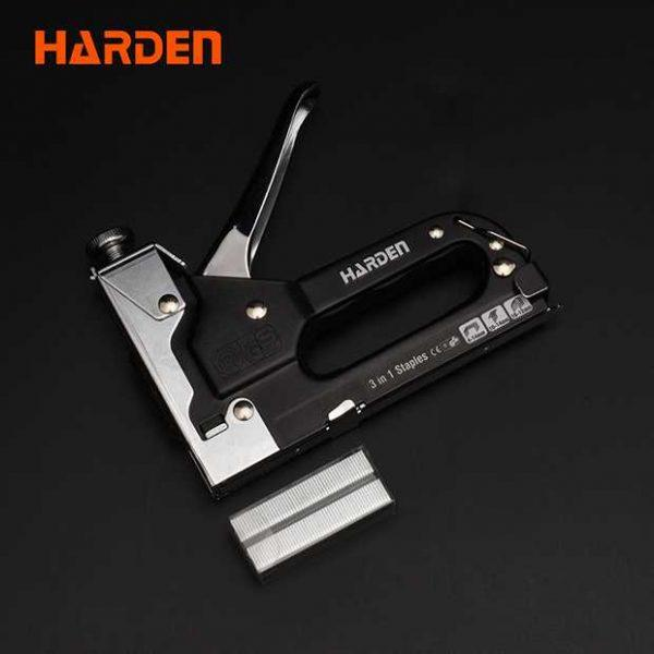 Heavy Duty 3 Way Used Staple Gun Harden Brand 620803