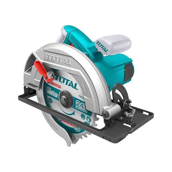 1600W 5000RPM Adjustable Depth Bevel Cutting Circular Saw Total Brand TS1161856