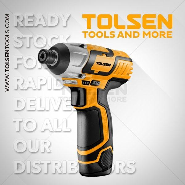 12V 2400rpm 100Nm Impact Drill Tolsen Brand 79025