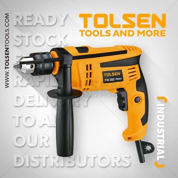850W 220-240V 50/60Hz 0-2900rpm Hammer Drill Machine Tolsen Brand 79503