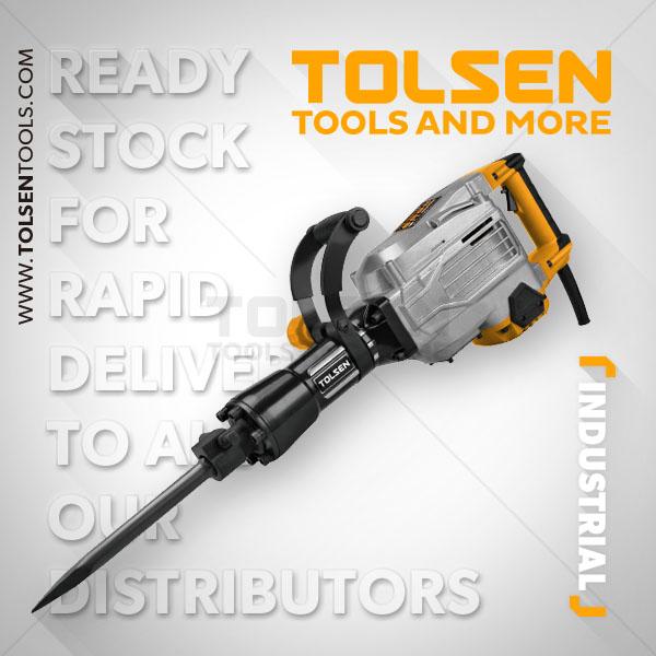 1700W 230V 50Hz Demolition Hammer Drill Tolsen Brand 79517