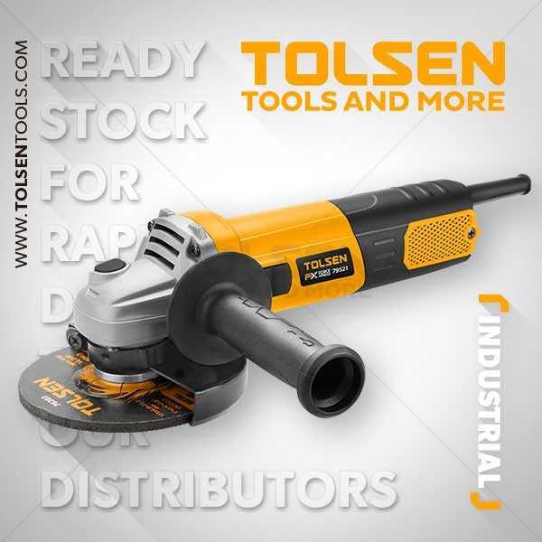 950W 220-230V 50Hz 11000rpm Angle Grinder Tolsen Brand 79521