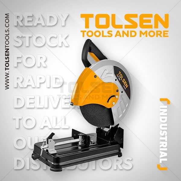 2500W 220-240V 0-3700rpm Cut Off Saw Machine Tolsen Brand 79538