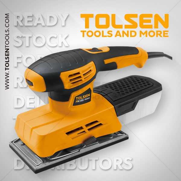 220W 12000rpm Sheet Finishing Sander Tolsen Brand 79563