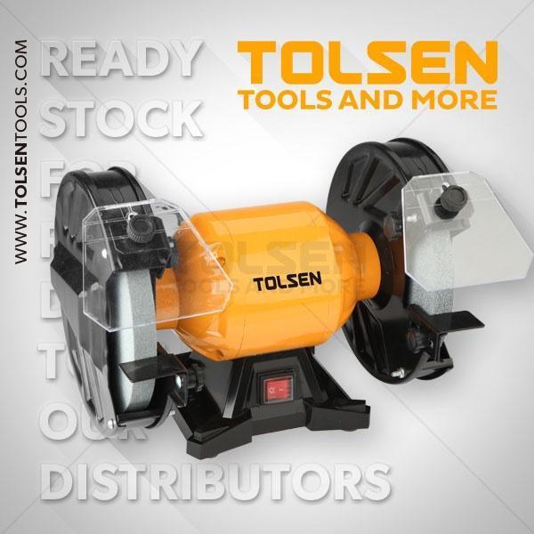 350W 8 Inch 2950rpm Bench Grinder Tolsen Brand 79648