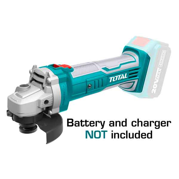 20V  8500/MIN Angle Grinder Total Brand TAGLI1001 (Without Battery & Charger)