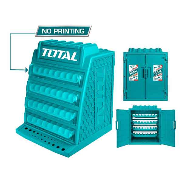 Drill Bits Display Cabinet Total Brand TAKD2608M