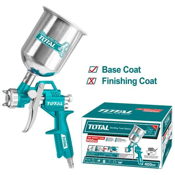 400CC Industrial Air Spray Gun Total Brand TAT10401