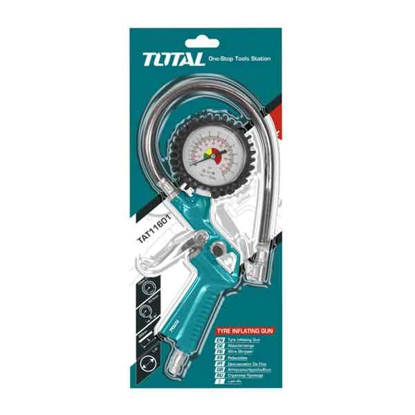 Air Tire Inflating Gun Total Brand TAT11601