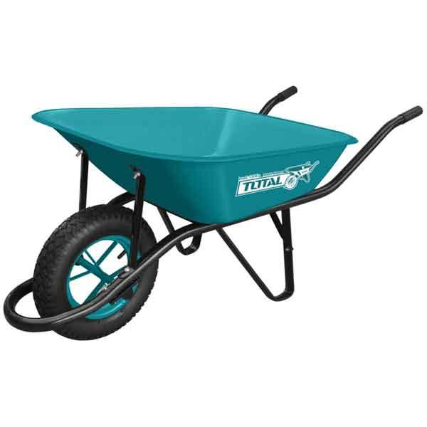 120kg Steel Metal Wheelbarrow Total Brand