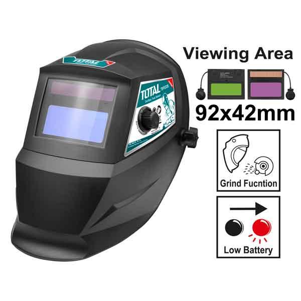 Auto - Darkening Welding Helmet Total Brand TSP9306