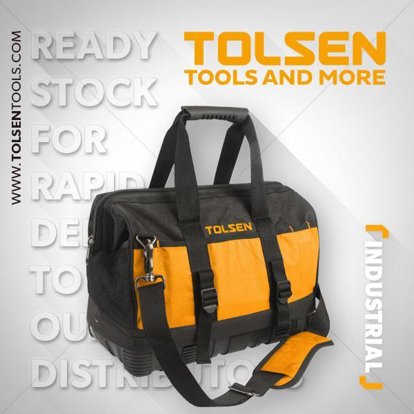 16 Inch Tool Bag Tolsen Brand 80103