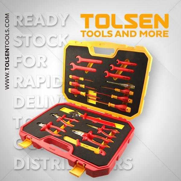 18PCS Insulated Hand Tools Set Tolsen Brand