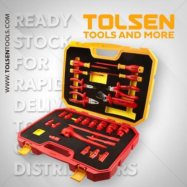 25PCS Insulated Hand Tools Set Tolsen Brand V83825