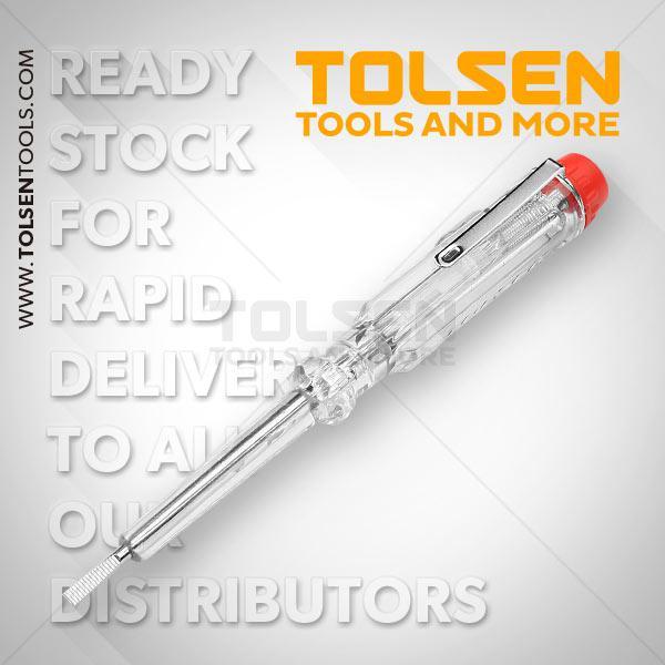 3X140mm Voltage Tester Tolsen Brand 38014