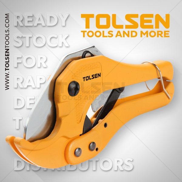 "200mm- 8"" Pvc Pipe Cutter Tolsen Brand 33000"