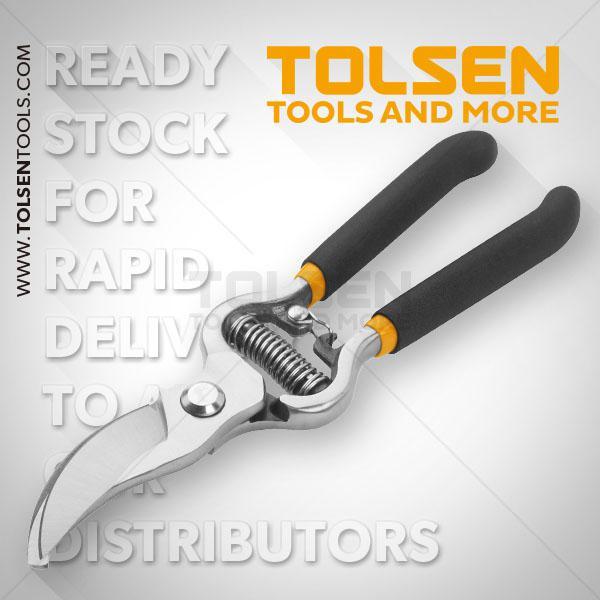 "200mm 8"" Bypass Pattern Pruning Shear Tolsen Brand 31018"
