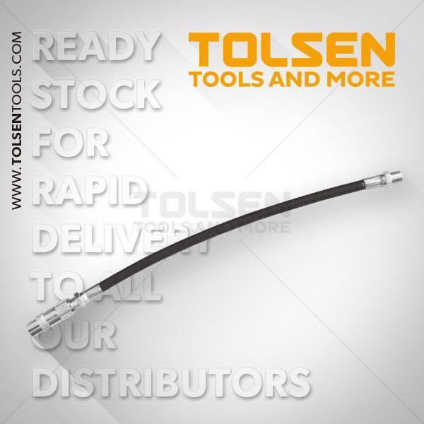8x300mm Flexible Tube For Grease Gun Tolsen Brand 65202