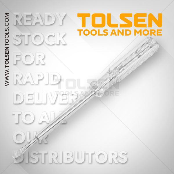 4x190mm Voltage Tester Tolsen Brand 38015