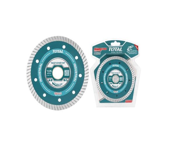 105 (4″) x 20mm Ultra thin Diamond Disc Total Brand– TAC2131051HT
