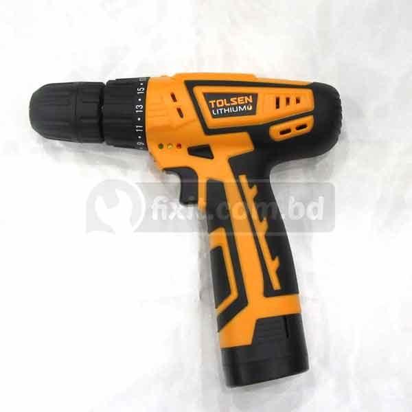 10.8V 50Hz 0-550RPM Cordless Drill Machine Tolsen Brand