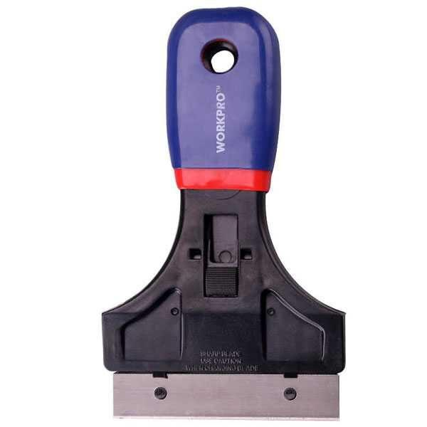 """3-1/2"""" (89mm) blade Glass and Tile Scraper Workpro Brand W018001"""