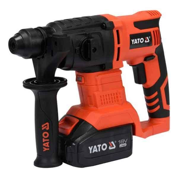 18V Sds Plus 3Ah Cordless Rotary Hammer Drilling Machine Tool Kit Yato Brand yt-82770