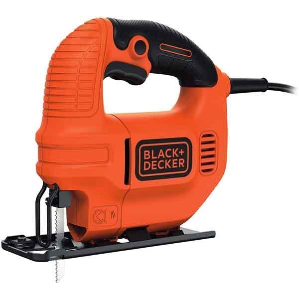 400W Compact Single Speed Jigsaw with blade Black+Decker Brand KS501K