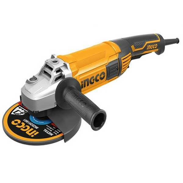2000W 8450rpm 7Inch 180mm Angle Grinder Ingco Brand AG200018