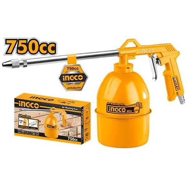 750cc 215mm 0.75L Industrial Air Washing Gun Ingco Brand AWG1001
