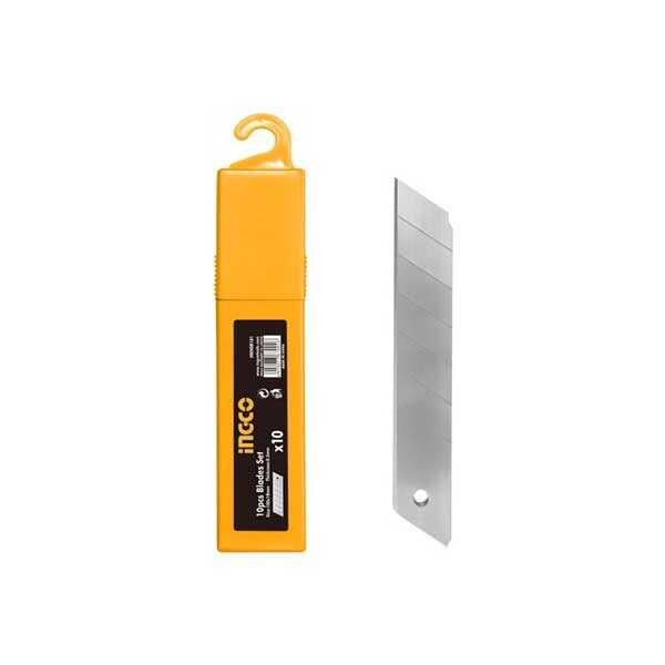 10pcs 18x100mm Snap off knife blades Ingco Brand HKNSB181