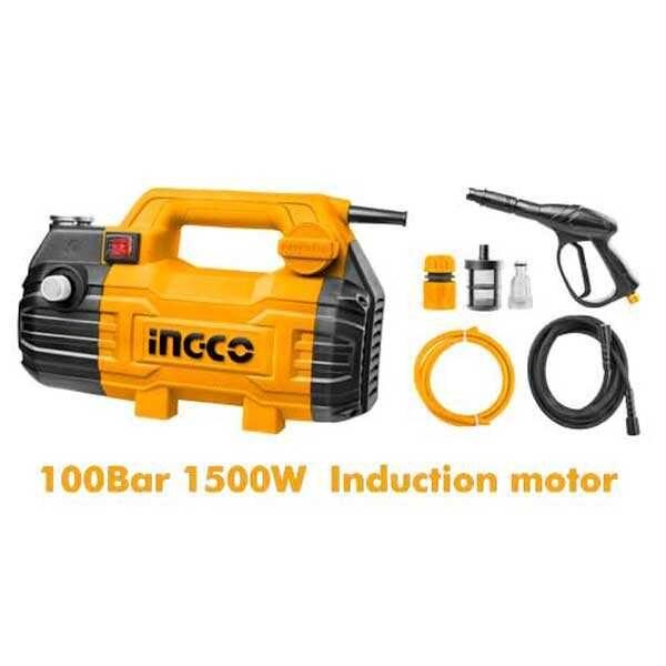 1500W 100bar High Pressure Washer Ingco Brand HPWR15028