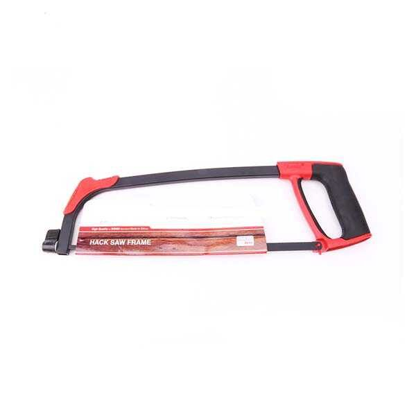 12 Inch Red & Black Hack Saw Frame with Blade Ronix Brand