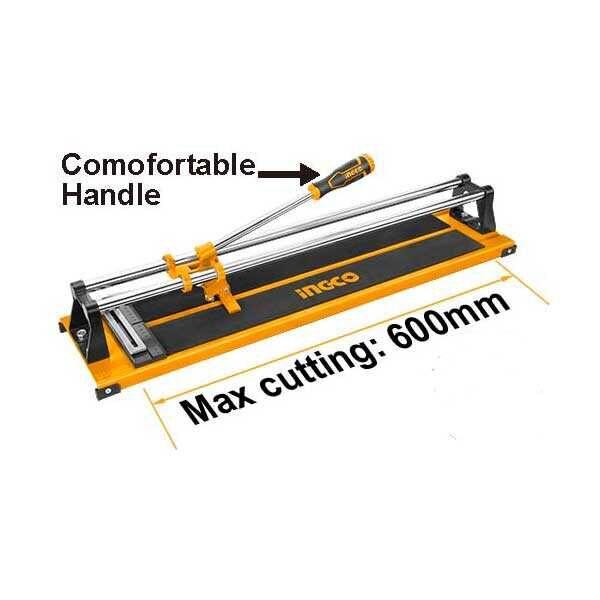 24 Inch 600mm Heavy Duty Tile Cutter Ingco Brand HTC04600