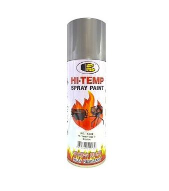 400 ml 1200*F High Temperature Silver Color Spray Paint Bosny Brand