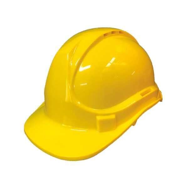 Heavy Duty Yellow Color Safety Helmet Yato Brand YT-73983