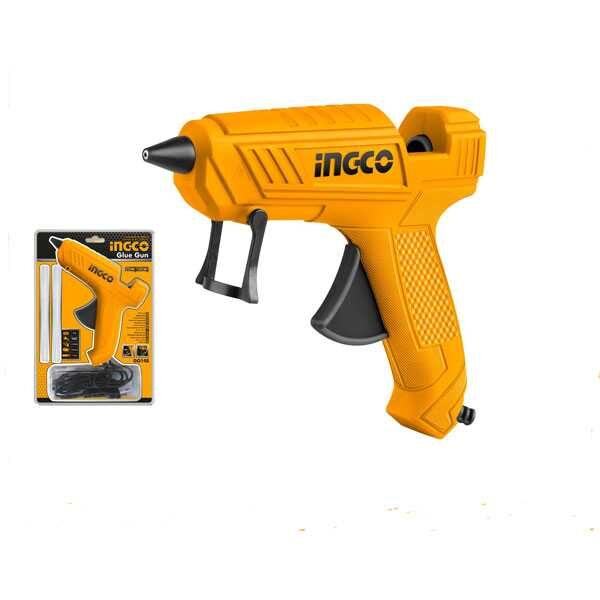 100W Heavy Duty Corded High Temperature Hot Glue Gun Ingco Brand GG148