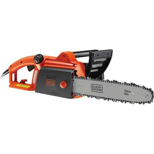 1800W Electric Chainsaw 35cm Bar Black & Decker Brand
