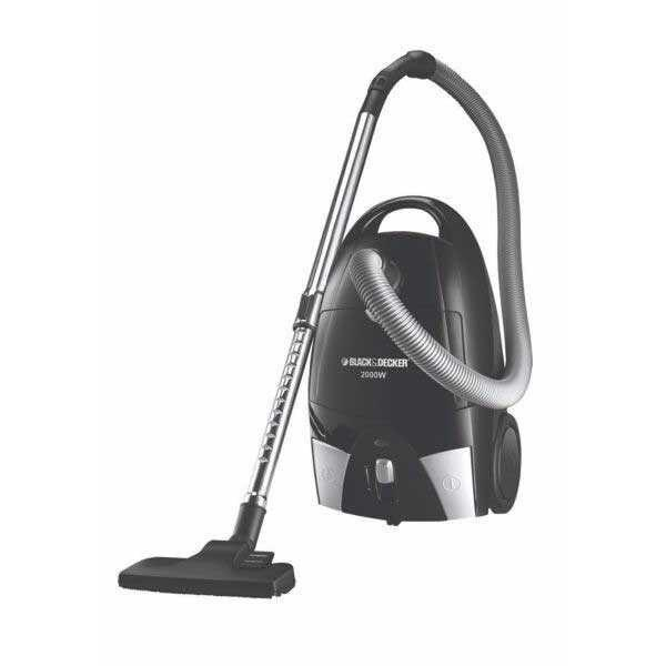 2000W Bagged Vacuum Cleaner Black & Decker Brand